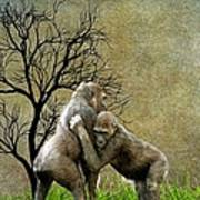 Animal - Gorillas - Isn't Love Grand Art Print