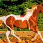 Animal Portrait The Horse Art Print