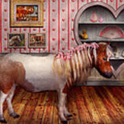 Animal - The Pony Art Print by Mike Savad