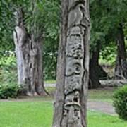 Animal Tree Totem Art Print