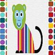 Animals Whimsical 6 Art Print