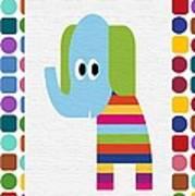 Animals Whimsical 8 Art Print