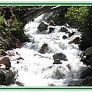 Animas River Southern Colorado Art Print