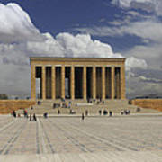 Anitkabir Ankara Turkey Art Print