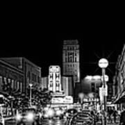 Ann Arbor Nights Art Print