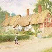 Ann Hathaway's Cottage Art Print