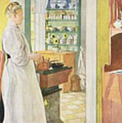 Anna Arnbom , Pub. In Lasst Licht Hinin Art Print