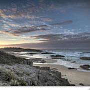 Anna Bay Sunrise Art Print by Steve Caldwell