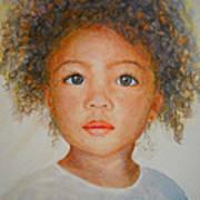 Anna Art Print by Terri Maddin-Miller