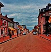 Annapolis Art Print by Benjamin Yeager