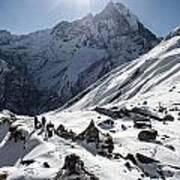 Annapurna Base Camp Art Print