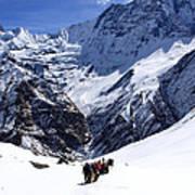 Annapurna Sanctuary Trail Art Print