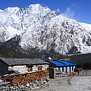 Annapurna Mountain View, Nepal Art Print