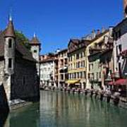 Annecy And Le Thiou Art Print