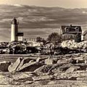 Annisquam Lighthouse Vintage Art Print