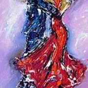 Anniversary Dance Painting  Art Print