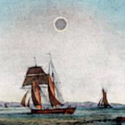 Annular Eclipse Of The Sun Art Print