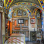 Another Bedroom At The Castle Art Print