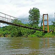 Another Bridge Over River Kwai In Kanchanaburi-thailand Art Print