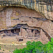 Another Dwelling On Chapin Mesa In Mesa Verde National Park-colorado  Art Print