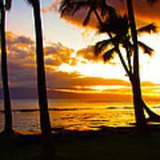 Another Maui Sunset Art Print
