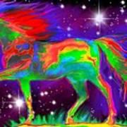 Another Rainbow Stallion Art Print