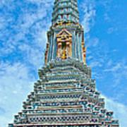 Another Stupa At Grand Palace Of Thailand In Bangkok Art Print