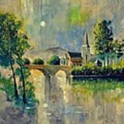 Ansermme Dinant 8821 Art Print