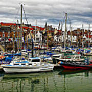 Anstruther Harbour Art Print