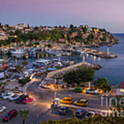 Antalya Harbour Art Print