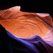 Antelope Canyon - Page Az Art Print