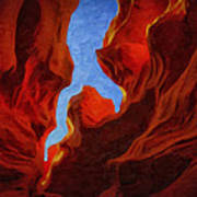 Antelope Canyon 30 Art Print