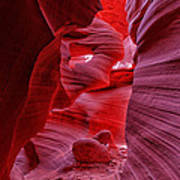 Antelope Canyon Mummy 2 Art Print