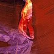 Antelope Canyon Passage Art Print