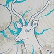 Antelope Invert Art Print