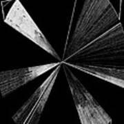 Antenna- Black And White  Art Print