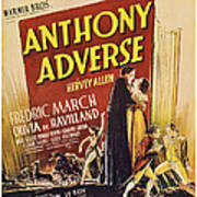 Anthony Adverse ,from Left Olivia De Art Print