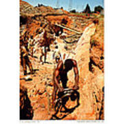 Anthony Howarth Collection - Gold- Re-working Old Mines - S.a. Art Print
