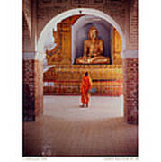 Anthony Howarth Collection - Gold - Saffron And Gold - Burma Art Print