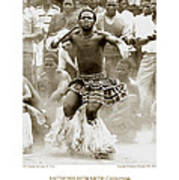 Anthony Howarth Collection - Gold - Sunday Mine Dance 2 - S.a. Art Print
