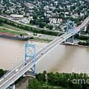 Anthony Wayne Bridge Toledo Ohio Art Print