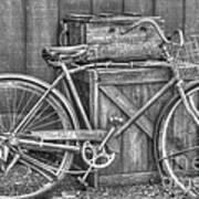 Antiquated Bike Art Print