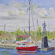 Antique Boat Museum-clayton Ny Art Print