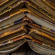Antique Books Art Print