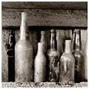 Antique Bottles Art Print