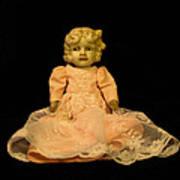 Antique Doll 2 Art Print