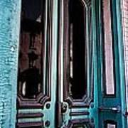 Antique Doors Art Print