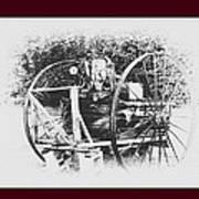 Antique Farm Machine Art Print