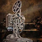 Antique Movie Projector Art Print