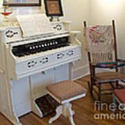 Antique Parlor Organ Art Print